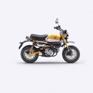 HONDA MONKEY 125 AMARILLO BANANA ROSS WHITE (YR-354)