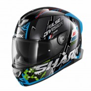 CASC INTEGRAL SHARK SKWAL 2 NOXXYS Black Blue Green NEW HE4954EKBG