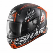 CASC INTEGRAL SHARK SKWAL 2 NOXXYS Mat Black orange silver NEW HE4955EKOS