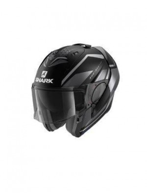 CASCO ABATIBLE SHARK EVO ES YARI Mat Black anthra anthra NEW HE9804EKAA