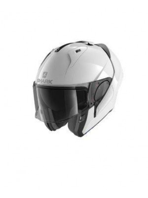 CASCO ABATIBLE SHARK EVO ES BLANK White azur NEW HE9800EWHU