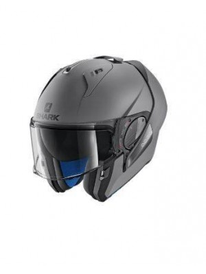 CASCO ABATIBLE SHARK EVO-ONE 2 BLANK Mat Anthracite Mat HE9702EAMA