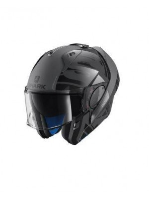 CASCO ABATIBLE SHARK EVO-ONE 2 LITHION DUAL Anthracite Black Anthracite HE9704EAKA