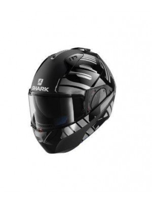 Compra CASCO ABATIBLE SHARK EVO-ONE 2 LITHION DUAL Black Chrom Anthracite HE9704EKUA, tu casco de moto en Tarragona