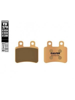 FD270G1380 PASTILLAS DE FRENO MOTO GALFER (SINTER SCOOTER BRAKE PADS)