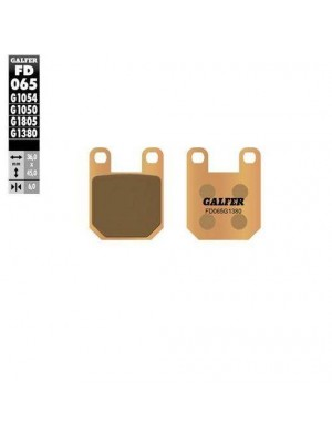 FD065G1380 PASTILLAS DE FRENO MOTO GALFER (SINTER SCOOTER BRAKE PADS)