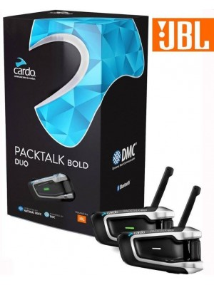 Intercomunicador de moto Cardo Packtalk Bold JBL DUO