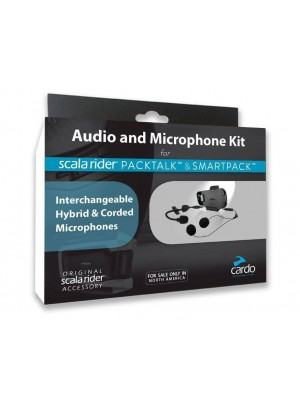 KIT D´AUDIO PER INTERCOMUNICADORES DE MOTO CARDO SmartPack / Packtalk / Packtalk Bold