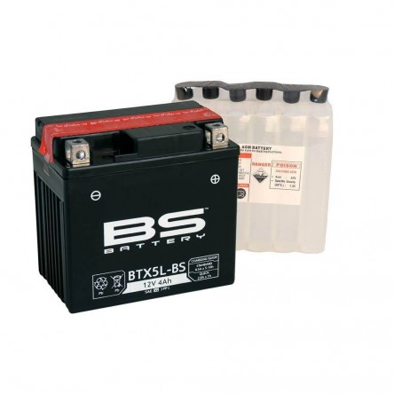 BATERIA BS BATTERY BTX5L-BS 12V 4 AH