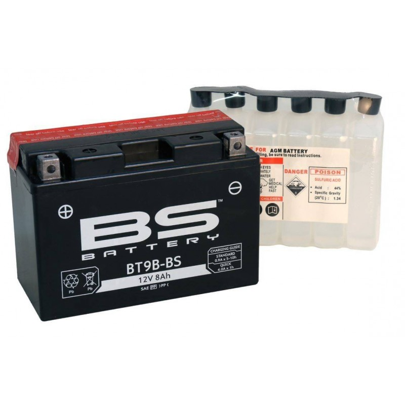 BATERIA BS BATTERY BT9B-BS 12V 8 AH