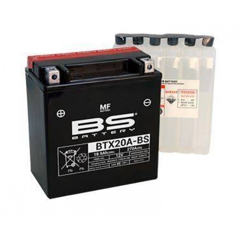 BATERIA BS BATTERY BTX20A-BS 12V 17 AH